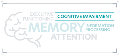 Graphic for elements that go into cognitive impairment